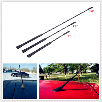 9/11/16 Car Roof Mast Radio FM Signal Aerial Amplified Antenna For BMW E34 F10 F20 E92 E38 E91 E53 E70 X5 M M3 E46 E39 E38 E90 image