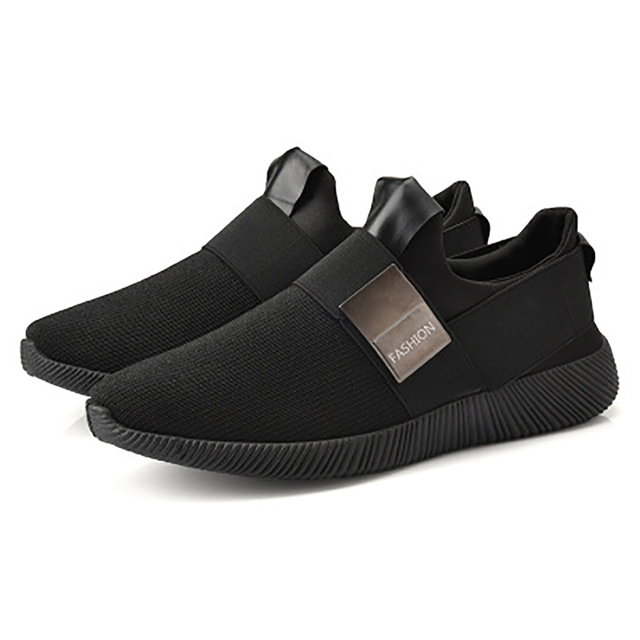 Sneakers Shoes Men Shallow Air Mesh Slip-on Male Sneakers  Breathable Comfort Light Flats Casual 2019 New Men Sports Shoes