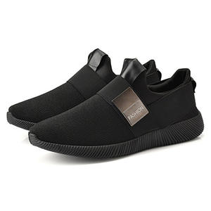 Shoes Men Sneakers New Light-Flats Breathable Slip-On Casual Comfort Shallow Air-Mesh