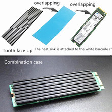 Notebook PC Yaitu M2 Solid State Drive Heatsink 2280 SSD Cooler M.2NGFF Pendingin Rompi Nvme(China)