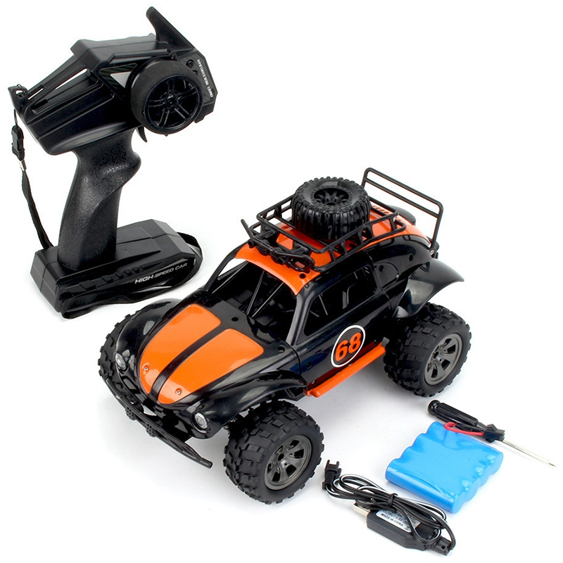 KYAMRC 1:18 2WD Classic Beetle Remote Control Car 2.4G RC Crawler Off-Road Car Buggy Moving Machine Kids Battery Powered Cars RT