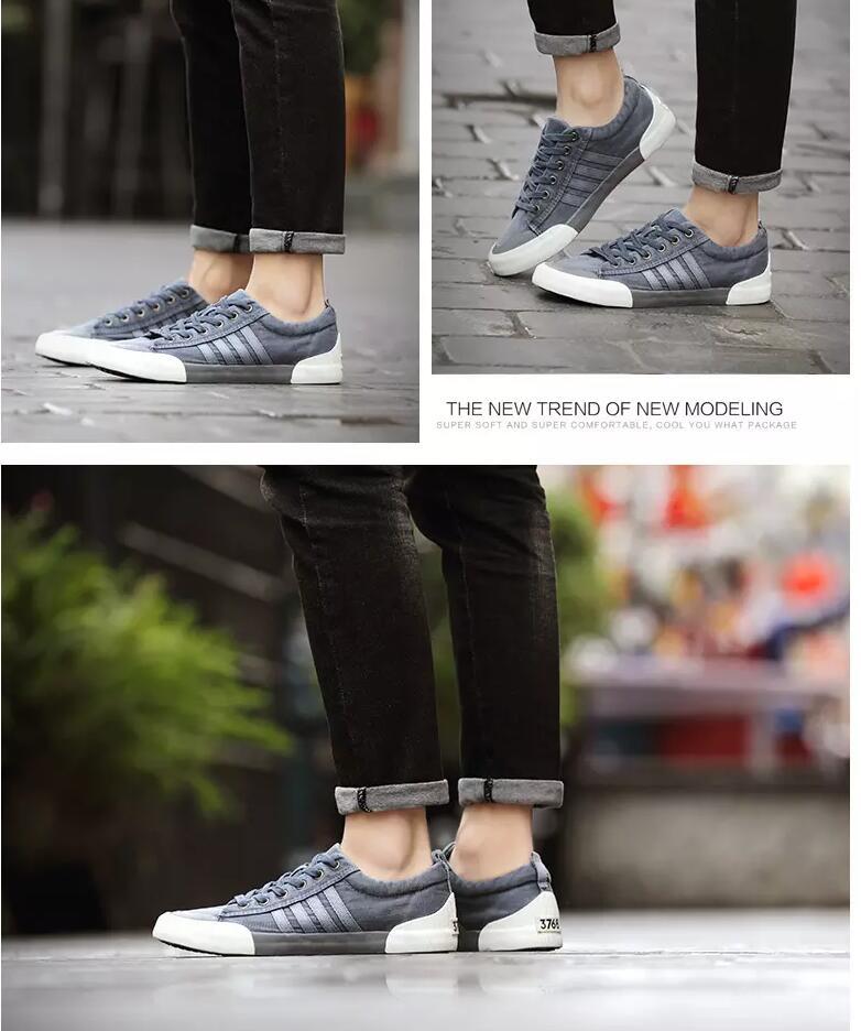 masculinos sapatos casuais desgastar-resistente confortável dedo do