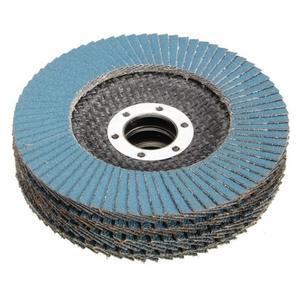 Image 4 - 10個プロフェッショナルフラップディスク115ミリメートル4.5サンディングディスク40/60/80/120グリット砥石のためのアングルグラインダー