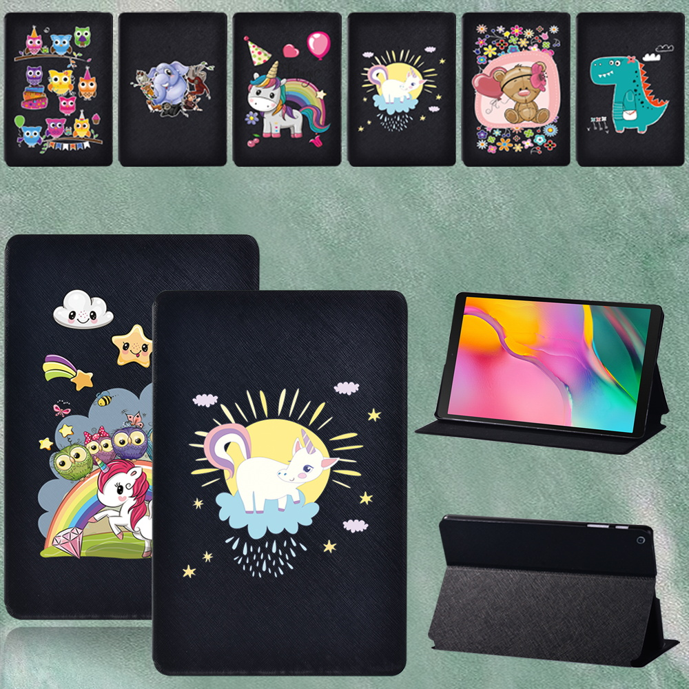 For Samsung Galaxy Tab A SM-T290 T295 2019 8.0 Inch High-quality Flip Tablet Leather Stand Cover Case + Stylus