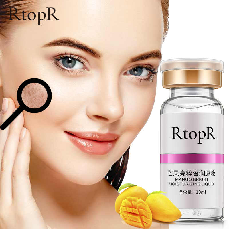 Face Whitening Anti Winkles Moisturizing Mango Serum Skin Care Anti-aging Liquid Facial Ance Treatment Remove Dark Spots Serum