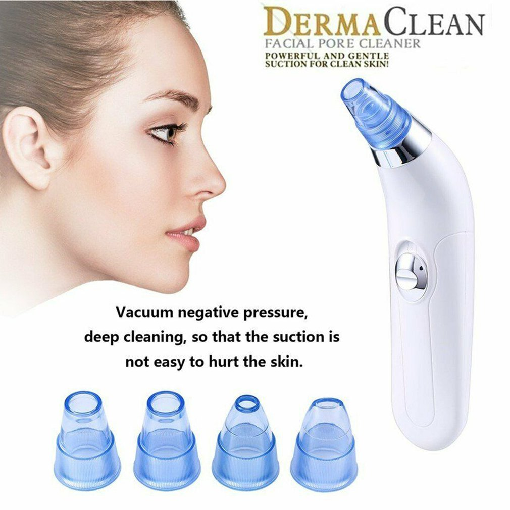 Blackhead Remover Skin Care Pore Vacuum Acne Pimple Removal Vacuum Suction Facial Diamond Dermabrasion Machine Face Clean  Tool