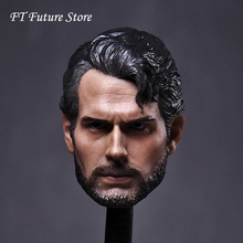 1/6 Scale Henry Carvers Beard Ramped Workers Decadent Edition Male Men Headsculpt Models