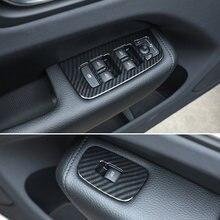 Abs углеродное волокно Авто двери и окна стекло подъемный переключатель