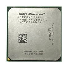 Amd phenom x4 9550 2.2 ghz quad-core processador cpu hd9550wcj4bgh soquete am2 +