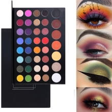 New Top quality 39Color Eyeshadow Makeup Palette Professional James Charles Pigments Artist Cosmetics