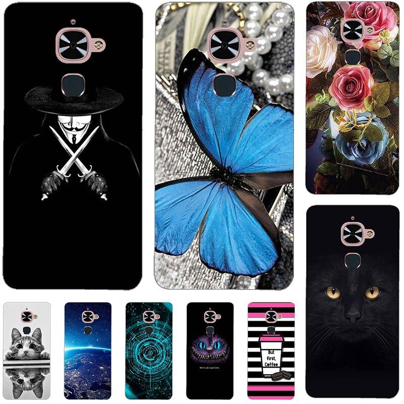 Phone Case For LeTV LeEco Le 2 X520 Le2 Pro X527 X526 X620 Le S3 X522 X626 2S Cover Fashion Soft Silicone Relief Case Capa