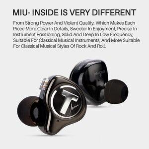 Image 4 - TFZ T X BEAR MONICA In Ear Monitor Professional Headphone Noise Canceling Super Bass DJ Music HIFI Headset Detachable Cable