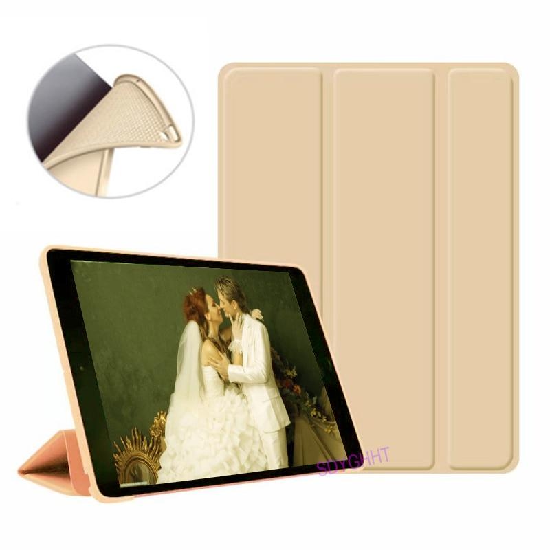 Gold 2 Orange 2020 case For iPad 10 2 inch 8th 7th Generation model A2270 A2428 Silicone soft bottom