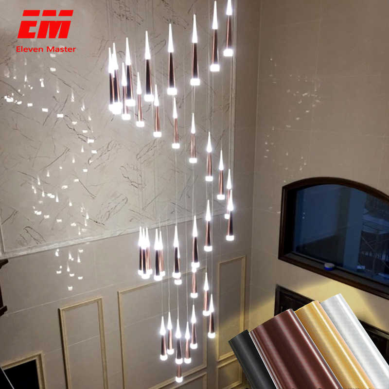Modern Led Chandelier Meteor lamp luxurious Ceiling mounted LED Chandelier Lighting For Living room Dining room Kitchen ZDD0025