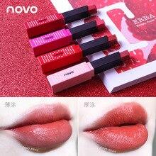 Maquiage NOVO 4pcs/lot Lip Kit Matte Lipstick Waterproof Long Lasting Nutritious