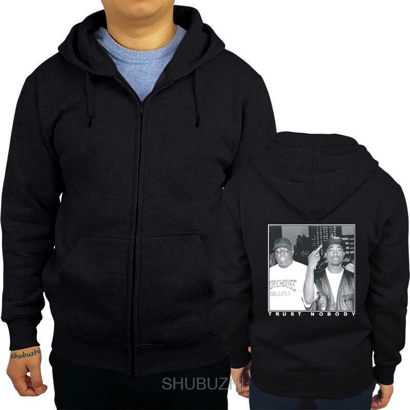 Sweat à capuche faisant des hommes à capuche mode shubuzhi Hip Hop graphique sweat confiance personne Streetwear confort sof sweats à capuche pour lui sbz141