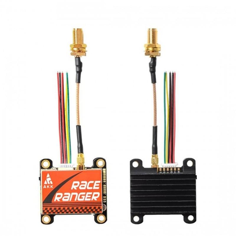 AKK Race Ranger Smart Audio 200mW/400mW/800mW/1600mW Power Switchable FPV Transmitter W/ SMA Adapter For RC Drone FPV System