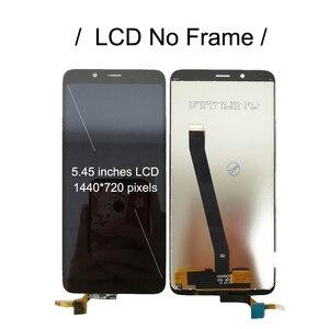 Image 3 - LCD z ramką do Xiaomi Redmi 7A wyświetlacz lcd MZB7995IN ekran dotykowy digitizer montaż Redmi7A M1903C3EG M1903C3EH wyświetlacz