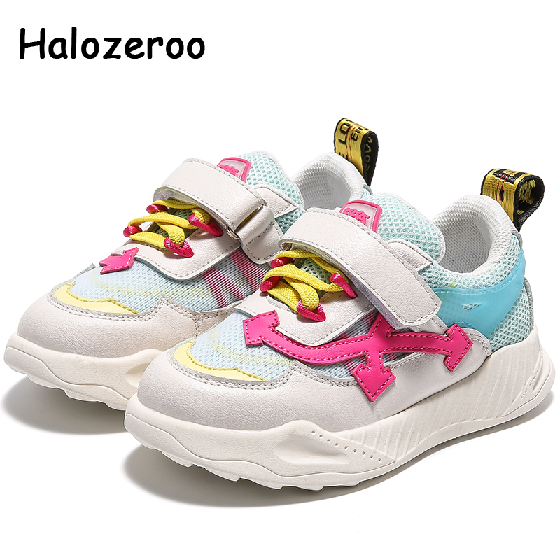 Spring Kids Casual Sneakers Toddler Children Mesh Shoes Baby Girls Sport Sneakers Boys White Brand Shoes Fashion Trainers 2020
