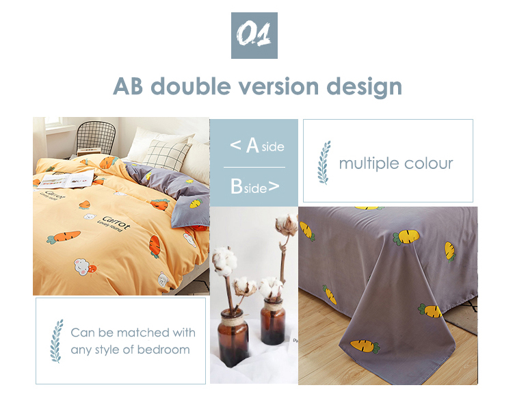 3 Piece Geometric Plaid bedding Set - Duvet Cover + sheet + Pillowcases Best Children's Lighting & Home Decor Online Store