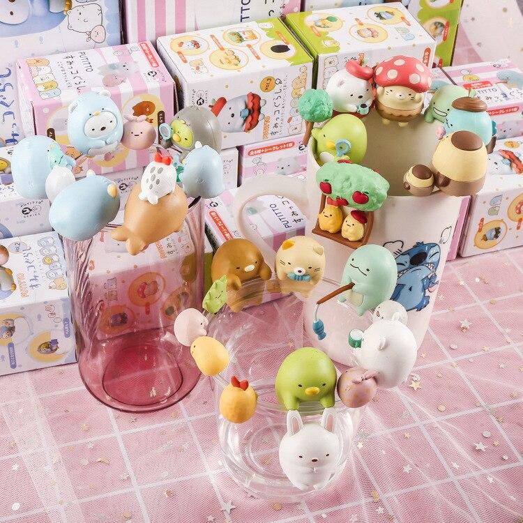 43% 1set Japan  Corner Creature Ornaments Decorative Action Figures Vinyl Doll 3kinds  WJ01