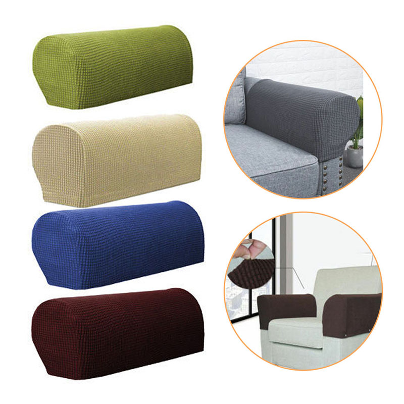 2019 Hot Fashion Sofa Towel Armchair Covers Armrest Furniture Accessories Removable Arm Stretch- Sofa Couch Chair Protector