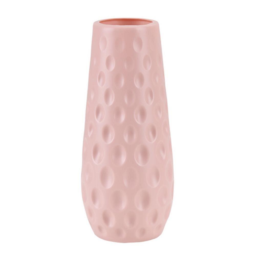 Скандинавском стиле Цветочная корзина ваза для цветов и рисунком в виде птичек-оригами Пластик ваза мини бутылка имитация Керамика украшение цветочный горшок для дома - Цвет: RL1266E