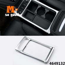 Trim Cover Chrome Auto Interior Accessories - ABS for HONDA CRV CR-V 2012/13/14/15/16 Car Front Console Water Cup Holder for honda crv cr v 2012 15 16 hight match center console switch button cover air conditioner outlet vent covers accessories 1pcs