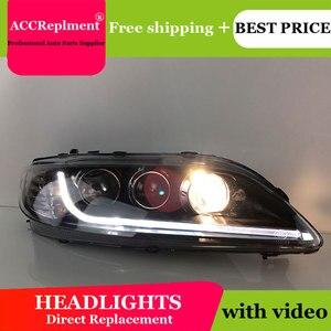 Image 4 - Cho Mazda6 2003 2014 Đèn Pha Tất Cả Các Đèn Pha LED DRL Năng Động Tín Hiệu Giấu Đầu Đèn Bi Xenon Tia Phụ Kiện Ô Tô tạo Kiểu Tóc