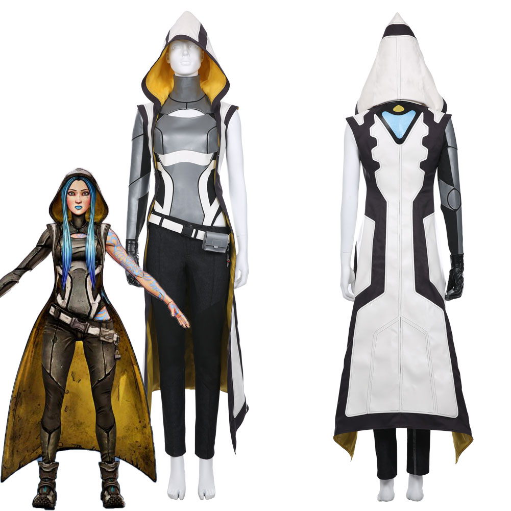 <font><b>Borderlands</b></font> 3 Maya Cosplay <font><b>Costume</b></font> Uniform Female Girls Halloween Carnival Outfit Dress Women Suit image