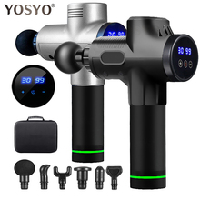 Massage-Gun Lcd-Display Exercising-Relaxation Pain-Relief Muscle-Pain Slimming-Shaping
