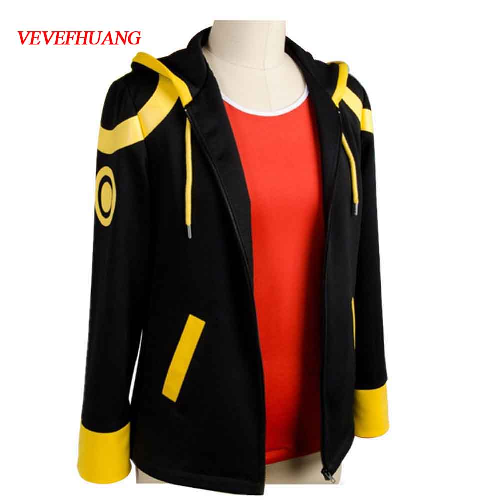 VEVEFHUANG New Anime Mystic Messenger Cosplay Costume 707 Saeyoung Luciel Choi Outfit Halloween Costumes Hooded Jacket Hoodies
