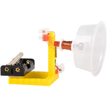 Estudantes ciência e tecnologia pequena fabricação invenção altifalante caseiro física acústica diy ciência brinquedo experimento