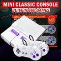 Mini lidar com console de jogos de vídeo super nes console de jogos de 8 bits bulit em 660 jogos console withnintendo jogos