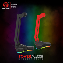 FANTECH AC3001S RGB Headphone Stand Anti slip And Base Is Aggravating For Multi function Earphone Stand Hot Earphone Rack