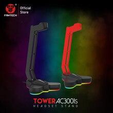 FANTECH AC3001S stojak na słuchawki RGB antypoślizgowy i podstawa obciąża wielofunkcyjny stojak na słuchawki gorący stojak na słuchawki