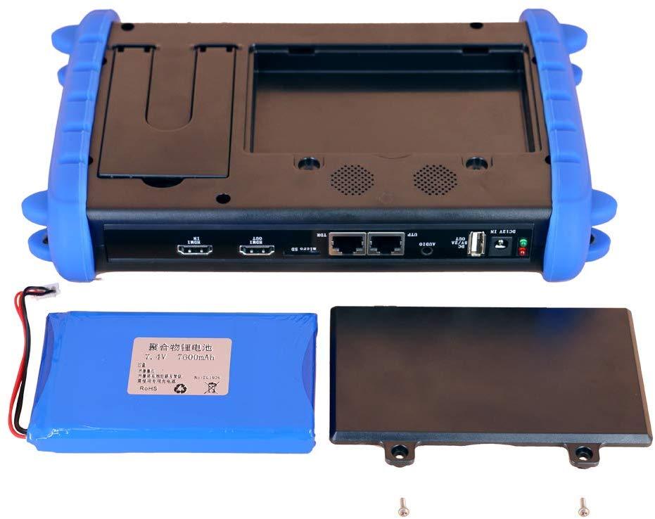 Image 4 - 7 Inch HD CCTV Tester Monitor AHD CVI TVI CVBS SDI IP H.265 4K 8MP HDMI In Multimeter TDR Optical fiber VFL ONVIF WIFI POEhd cctvip 4kcctv ahd -