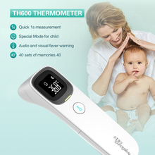 цена на Body Temperature Gun Forehead Ear Thermometer Home Electronic Thermometer Infrared High Precision Medical Fever IR  Termometro