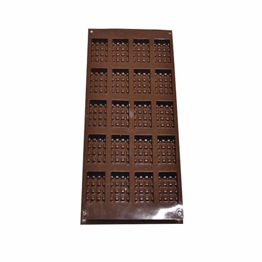 ケーキツール金型キッチンシリコーンミニラウンドワッフルパンケーキチョコレートケーキパンベーキングモールドワッフルトレイフォンダンツール 2020 Churrasco
