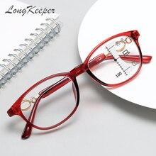 LongKeeper Anti Blau Licht Lesebrille Männer Frauen 2020 Progressive Multifokale Brillen In Der Nähe Von Weit Anblick Dioptrien + 1,0 bis + 4,0