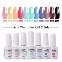 Arte Clavo Nail Gel Varnish 15ml High Quality Nail