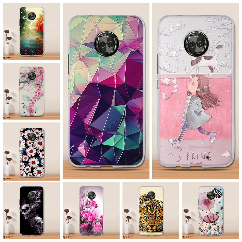 Case For <font><b>Motorola</b></font> <font><b>Moto</b></font> X4 Soft Silicone TPU Fashion Pattern Painting Back Cover for <font><b>Motorola</b></font> <font><b>Moto</b></font> <font><b>XT1900</b></font> X 2017 (4th gen) Cases image