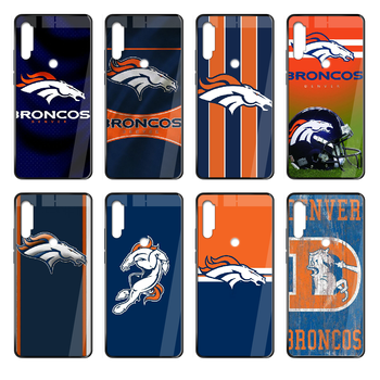 Denver Bronco American Football Phone case cover hull For Xiaomi Redmi Note S2 4 5 6 7 8 K20 A S X Plus Pro black shell painting image