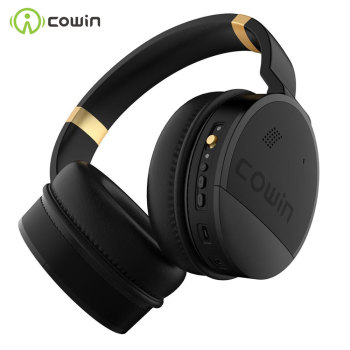 COWIN E8 [Upgraded] Active Noise Cancelling Bluetooth Headphone Wireless Headphones Over Ear with Microphone Hi-Fi Deep Bass mixcder e7 wireless headphone hifi active noise cancelling bluetooth v5 0 headphone anc over ear headset for phone