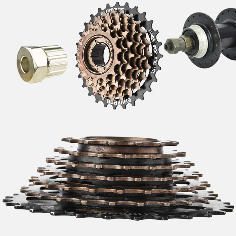 7 Speed MTB Mountain Bike Bicycle Cassette Sprockets Freewheel