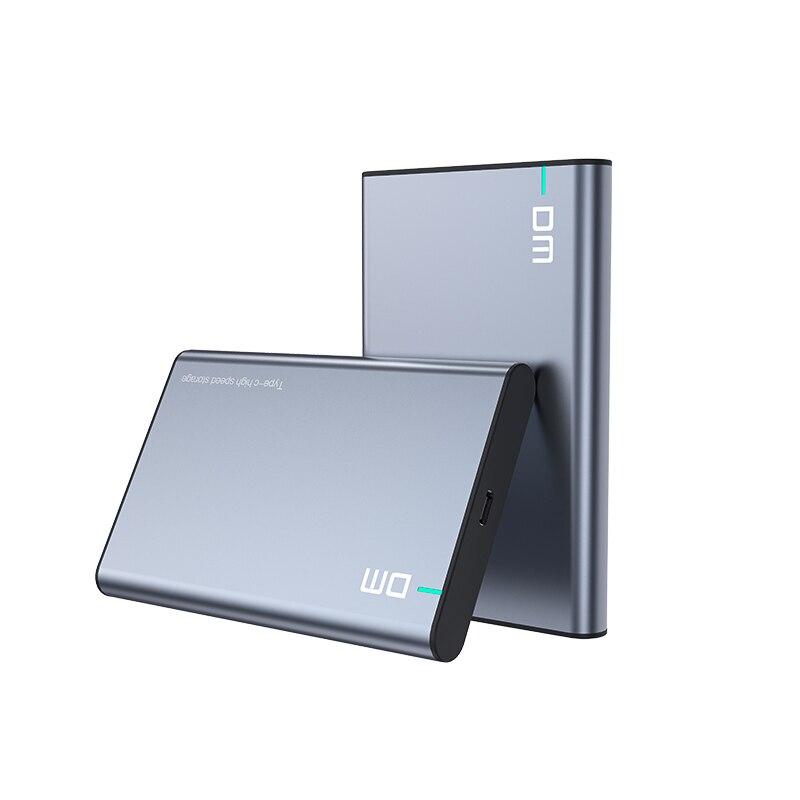 DM HDD Case 2.5 Inch SATA To USB 3.1 Gen 2 HDD Enclosure External Hard Drive Enclosure SSD Case Portable Hard Disk Case