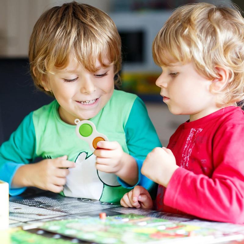 Fidget Toys Pack-Set Stress-Ball Mystery-Box Soft-Sensory-Kit Push Bubble Poppit Popit-Dimple img4