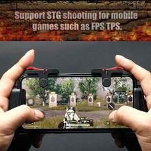 Mando para juegos de teléfono móvil, botón de PUBG para tirador L1R1, teclas de agarre para IPhone y Android, 2 uds.