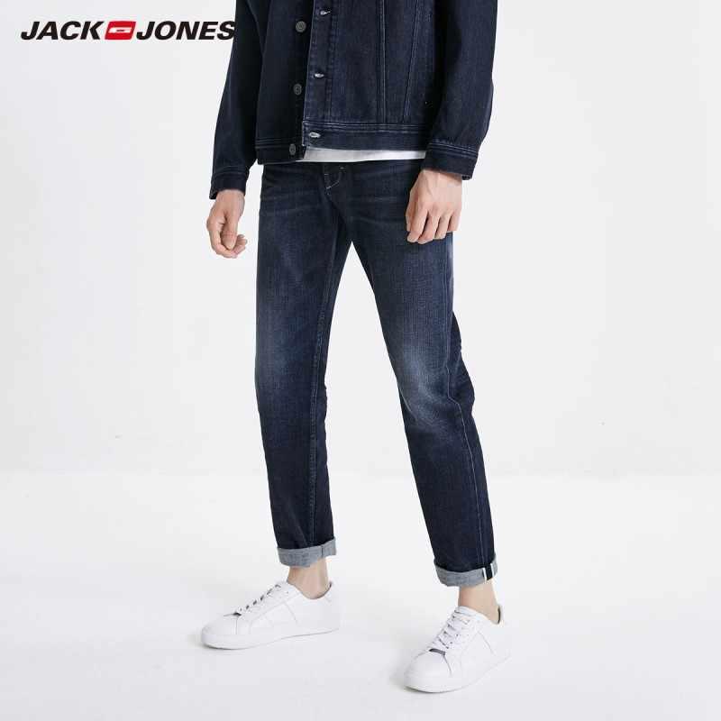 JackJones uomo Stretch Slim Fit Jeans di Stile Classico di Modo Del Denim Dei Jeans 219132559