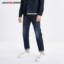 جينز ضيق مطاطي للرجال من JackJones جينز دينم بطراز كلاسيكي على الموضة لعام 219132559